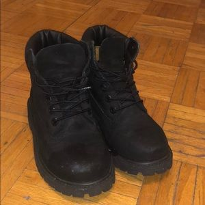 Black Timberlands size 13 M